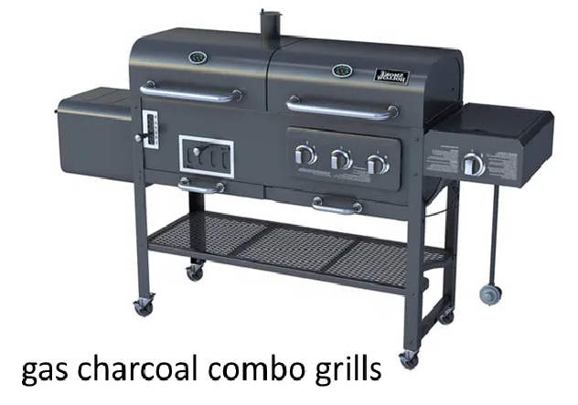 gas charcoal combo grills