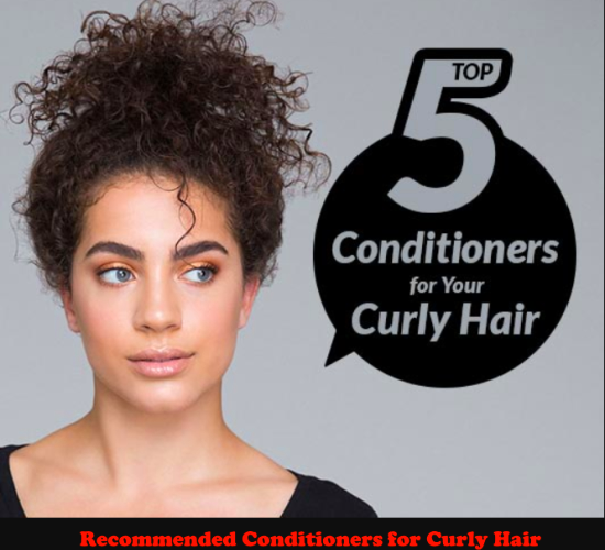 The Best Recommended Conditioners for Curly Hair